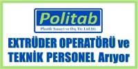extrüder operatörü elemanı, mekanik elektrik teknik personel elemanı