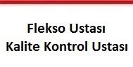 flekso ve kalite kontrol ustası