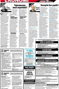 Hürriyet İk eleman sayfaları