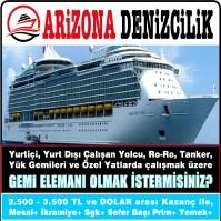 Arizona Denizcilik İstanbul Vasıfsız İş İlanı